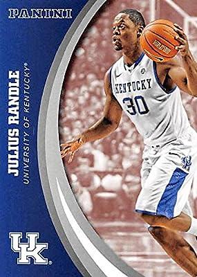 Julius Randle basketball card (Kentucky Wildcats) 2016 Panini Team Collection #44