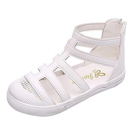 30236a37c0a83 Amazon.com: ❤ Mealeaf ❤ Baby Kids Fashion Roman Shoes Children ...