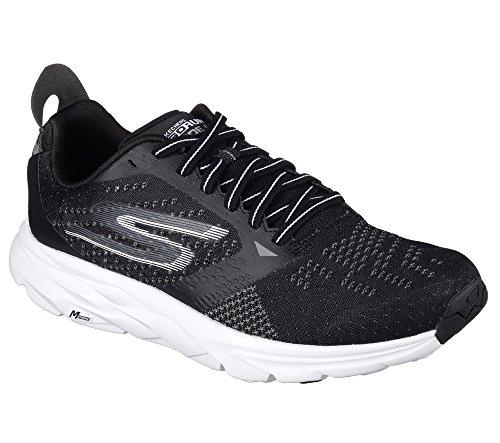 Skechers Performance Men S Go Run Ride 6 Running Shoe Black White