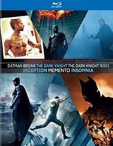 The Christopher Nolan Director's Collection: Batman Begins / The Dark Knight / The Dark Knight Rises / Inception / Memento / Insomnia [Blu-ray] (Bilingual)