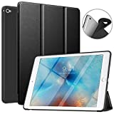 MoKo Case Fit iPad Air 2, Slim Smart Shell Stand Folio Case with Soft TPU Back Cover Compatible with Apple iPad Air 2 9.7', Auto Wake/Sleep - Black
