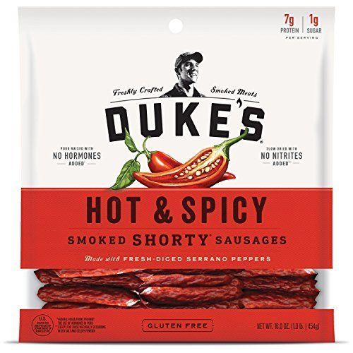 "Little Sausages (DUKE'S Hot & Spicy ""Shorty"" Smoked Sausages, 16.0-ounce Bag)"