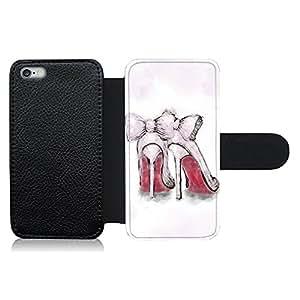 Funda carcasa de cuero para Apple iPhone 6 Plus - 6S Plus diseño zapatos de tacón