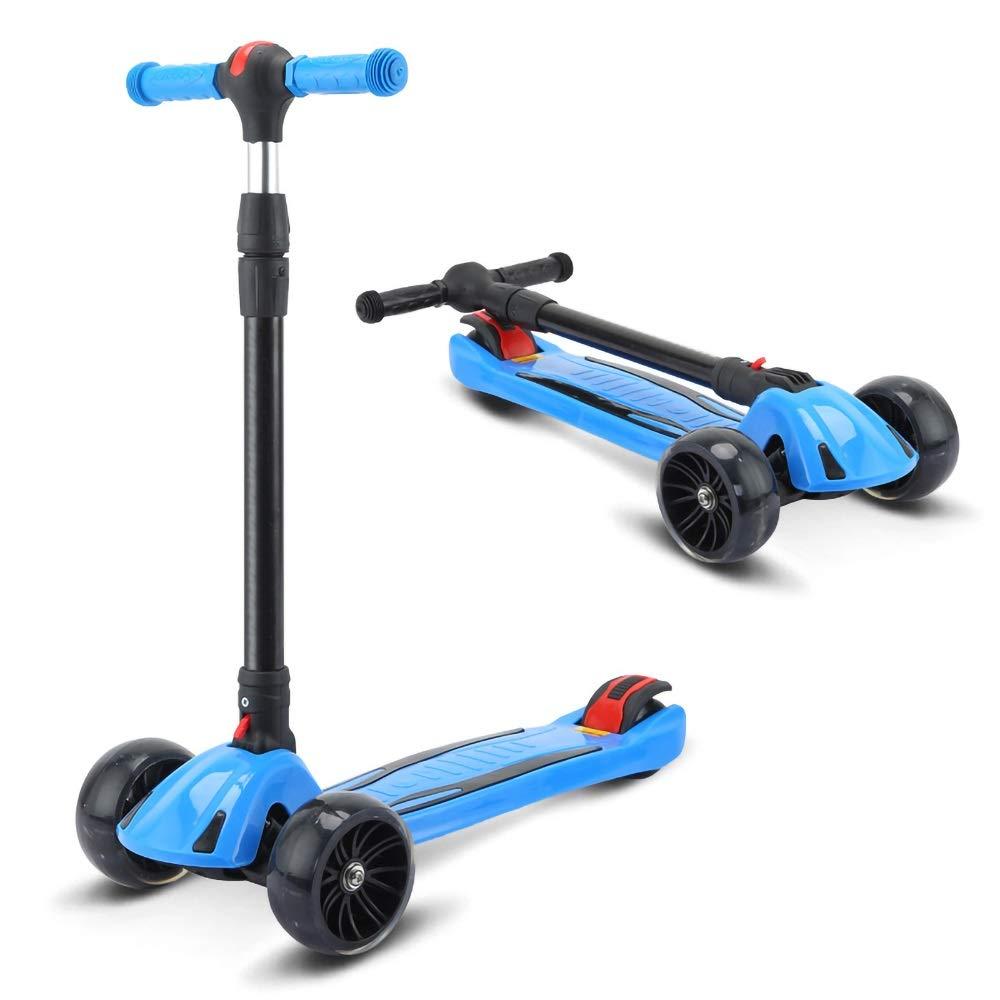 満点の Shioya house ) 子供の三輪スクーター、男性と女性に適したヨーヨースクーターに適して Blue、折りたたむことができます、調整することができます、子供の贈り物 ご愛顧ありがとうございました ( ( Color : Blue ) B07QZQGL97, 京屋酒店ワインカーヴ:8a7b6faf --- svecha37.ru