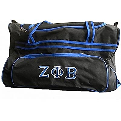1812de2619 on sale Zeta Phi Beta Carry-On Luggage Trolley Bag  Black - 25