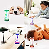 YUE Action Liquid Motion Bubbler / Liquid Timer for Sensory Toys, Fidget Toy, Children Activity, Calm Relaxing Desk Toys, Anxiety Toys, Autism Toys, ADHD Fidget Toys, Assorted Colors, One Piece