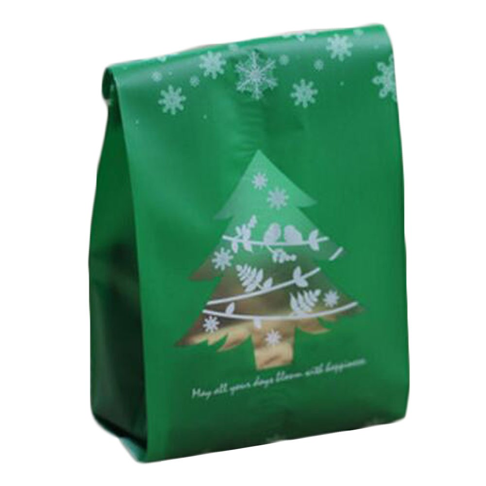 50 Pcs Christmas Cookie Making Supplies Wedding Biscuits Gift Bag Candy Bag -A5 George Jimmy