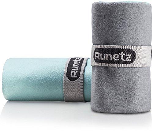 2pc Soft Microfiber Athletic Towel