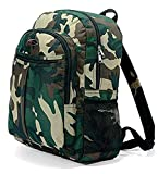 Benzi Classic Jungle Army Style Camouflage Backpack Rucksack Boys Girls Men or Women for School, College, Travel, Holiday 20 Litre Capacity