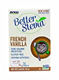Now Foods French Vanilla Stevia, 75 Ct, 2 Pack