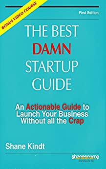 Best Damn Startup Guide Actionable ebook product image