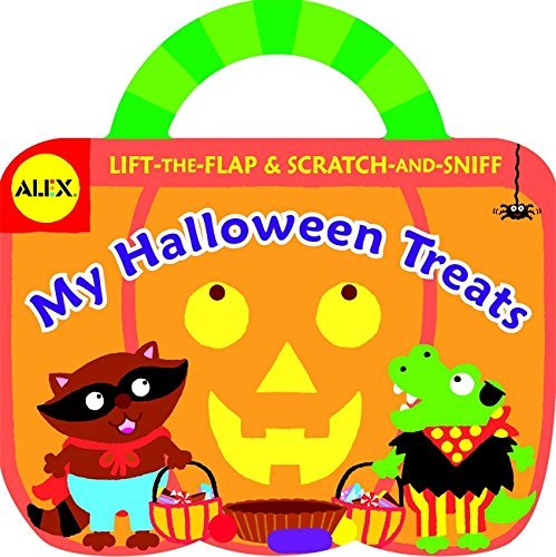 My Halloween Treats: Lift-the-Flap & Scratch-and-Sniff (Alex Toys) by Alex Toys (Kids Toys Channel Halloween)