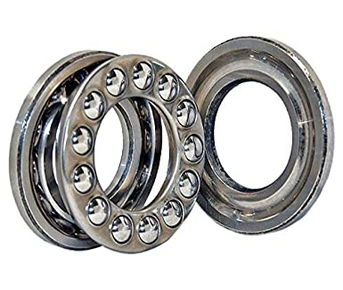 OD Thickness 51205 Axial Ball Thrust Bearing 25mm x 15mm x 47mm ID
