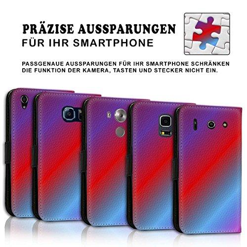 Wallet Book Style Flip Handy Tasche Case Schutz Hülle Schale Motiv Etui für Apple iPhone 6 Plus / 6S Plus - Design Flip MV268