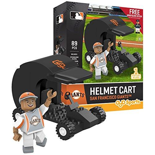 MLB San Francisco Giants Sports Fan Bobble Head Toy Figures, Black/Orange, One Size