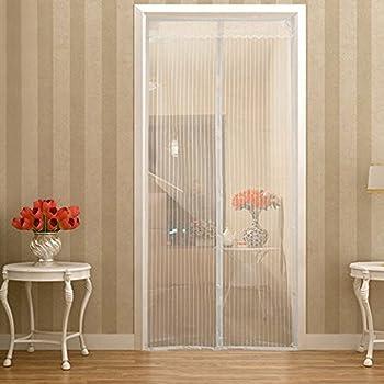 Magnetic Screen Door Heavy Duty Mesh Curtain Mosquito