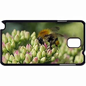New Style Customized Back Cover Case For Samsung Galaxy Note 3 Hardshell Case, Back Cover Design Bee Close Up Personalized Unique Case For Samsung Note 3