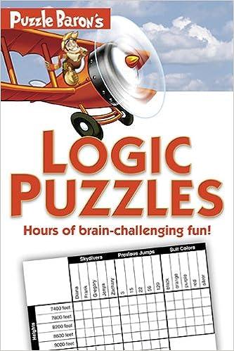 Download E Books Puzzle Barons Logic Puzzles PDF