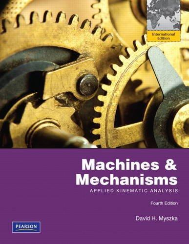 Download Machines & Mechanisms: Applied Kinematic Analysis pdf epub