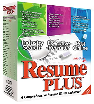 amazon com resume plus