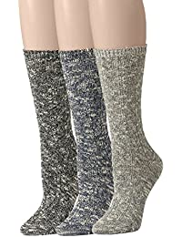 Women's Slouch Vintage Knit Cotton Boot Socks