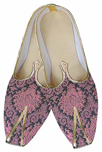 Chaussures De Mariage Designer Rose Inmonarch Mens Mj0095