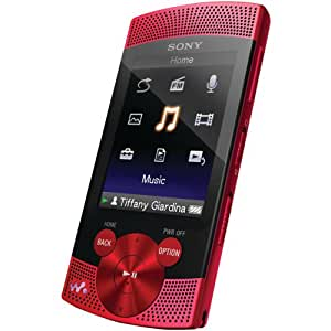 Sony Walkman NWZS545RED 16GB Video MP3 Player (Red)