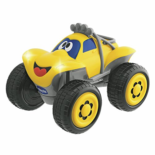 Chicco Billy Bigwheels, Coche Radio Control, Color Amarillo