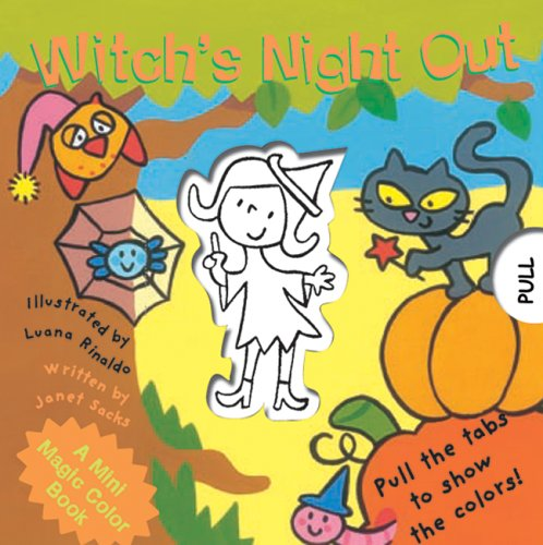 A Mini Magic Color Book: Witch's Night Out (Magic Color Books)