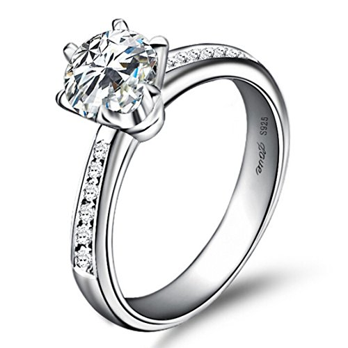 Silver-Masters-Womens-925-Sterling-Silver-Rings-Highest-Quality-CZ-Cubic-Zirconia