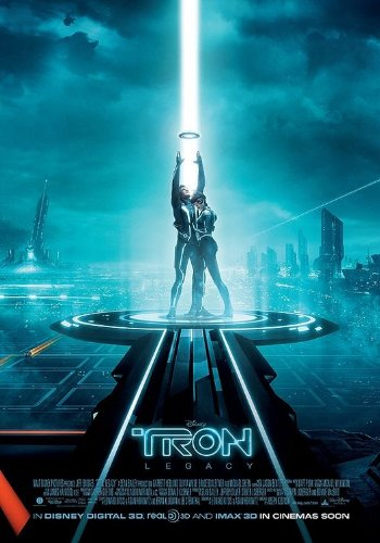 Tron Legacy, Original Double-sided Regular Movie Poster