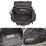Canvas Backpack, P.KU.VDSL-AUGUR Series Vintage