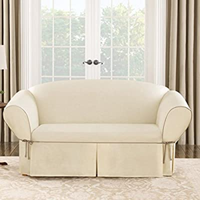 Sure Fit Cotton Duck Sofa Cover