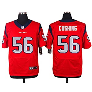Naeplor Men's Houston #56 Brian Cushing Red Jersey