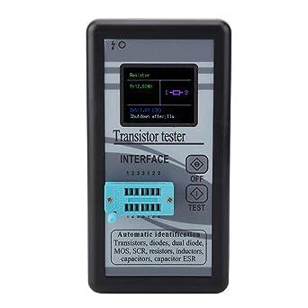 M328 Multifonctionnel Transistor Testeur Résistance Inductance Capacitance ESR MOS