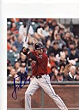 J.D. MARTINEZ HOUSTON ASTROS AT BAT SIGNED AUTOGRAPHED 8X10 PHOTO W/COA