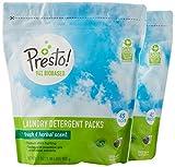 #2: Presto! 94% Biobased Laundry Detergent Packs, Fresh & Herbal Scent, 90 Loads (2-pack, 45 each)