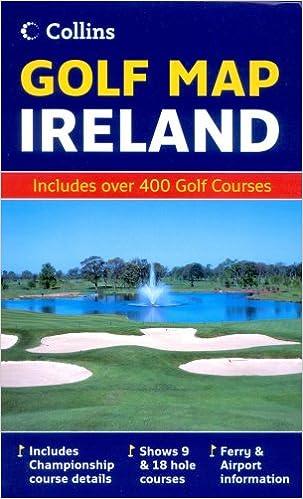 Golf Map Of Ireland.Golf Map Ireland Collins 9780007241514 Amazon Com Books
