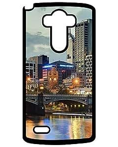 Hot 3412956ZE354858379G3 Melbourne Australia Yarra river Look LG G3 Case, Best Design Hard Shell Skin Protector Cover William C. Valdez's Shop