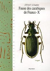 Faune des carabiques de France : Tome X