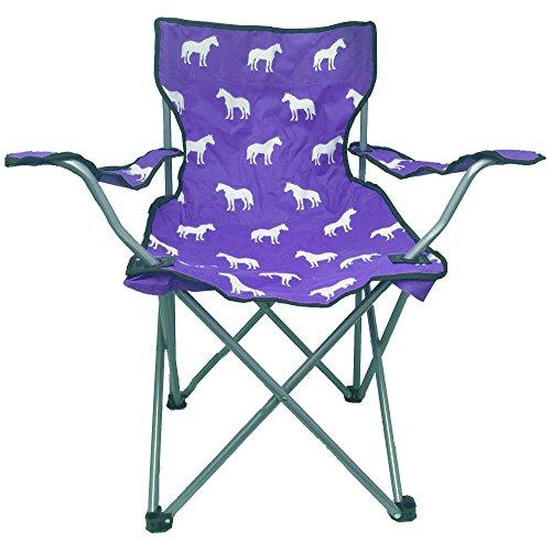 (Chicks Saddlery Horse Print Adult Folding Camp Chair )