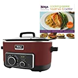 Cheap Ninja 6 Quart 4-In-1 Slow Cooker with Recipe Book (Certified Refurbished)