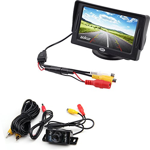 Car Backup Camera Kit with 4.3