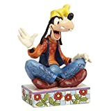 Disney Traditions by Jim Shore Goofy Personality Pose Stone Resin Figurine, 5""