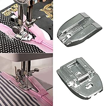 [Free Shipping] Invisible Zipper Presser Foot Sewing Machine Presser Foot Sewing Tool //