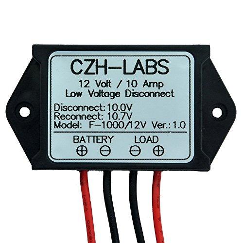 Low Power Disconnect Module - Electronics-Salon 1PCS Low Voltage Disconnect Module LVD, 12V 10A, Protect/Prolong Battery Life.