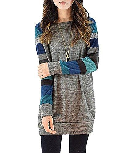 Roseate Womens Casual Crewneck Sweatshirt