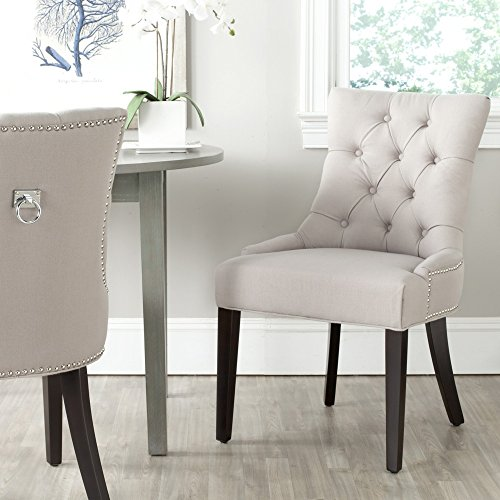 - Safavieh Mercer Collection Harlow Ring Chair, Taupe, Set of 2