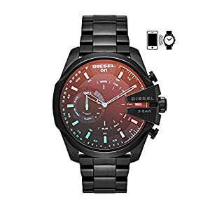 Diesel On Men's Mega Chief Hybrid Smartwatch – Activity Tracker Compatible with Android and iOS Phones