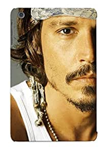 Awesome Design Suede Hat Johnny Depp Hard Case Cover For Ipad Mini/mini 2(gift For Lovers)